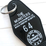 The Munsters Hotel Key Tag / Keychain