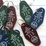 Twin Peaks Great Northern Hotel Key Tag / Keychain
