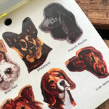 Vintage Dogs Stickers - Eureka Stickers, Presto Stick Stickers, Vintage Seals, Paper Ephemera, Dog Ephemera, Junk Journal, Old Dog Paper Lot
