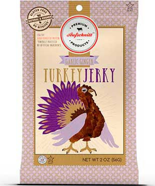 Garlic Ginger Turkey Jerky