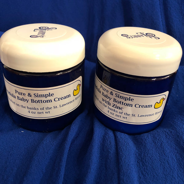 Pure & Simple Calendula Baby Bottom Cream