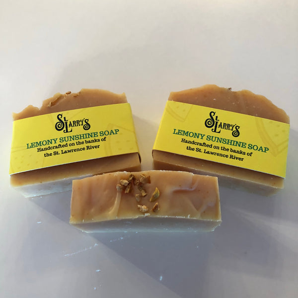 Lemony Sunshine Soap