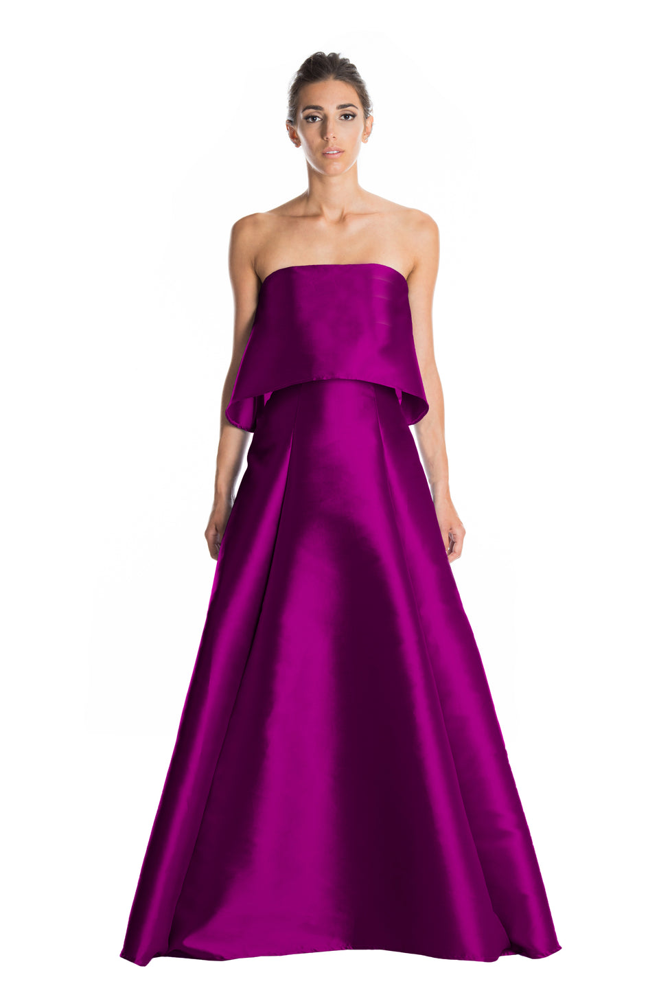 Strapless Structured Ball Gown Set