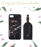 Nappa Luggage Tag & iPhone Case Bundle
