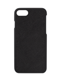 Saffiano iPhone Hard Case in Black