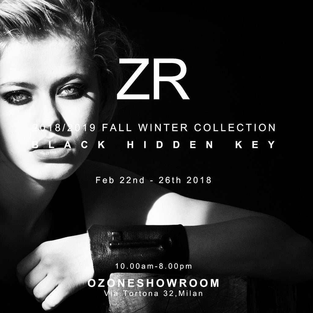 ZR BLACK HIDDEN KEY @ OZONE SHOWROOM MILAN 22-26.02.2018