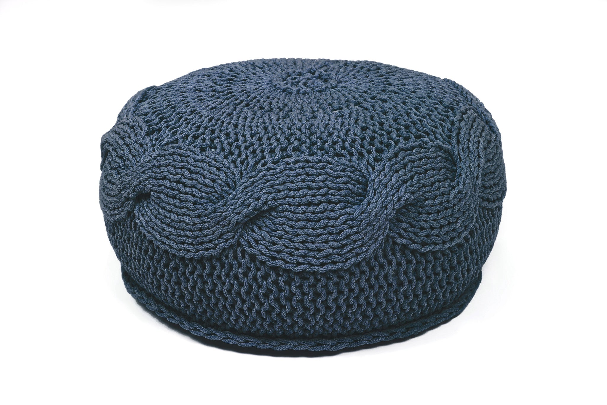 SOL knitted POUF