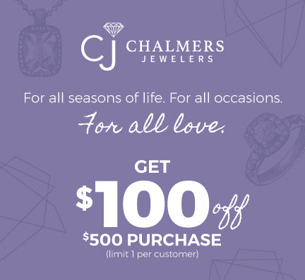 Get $100 off your $500 purchase