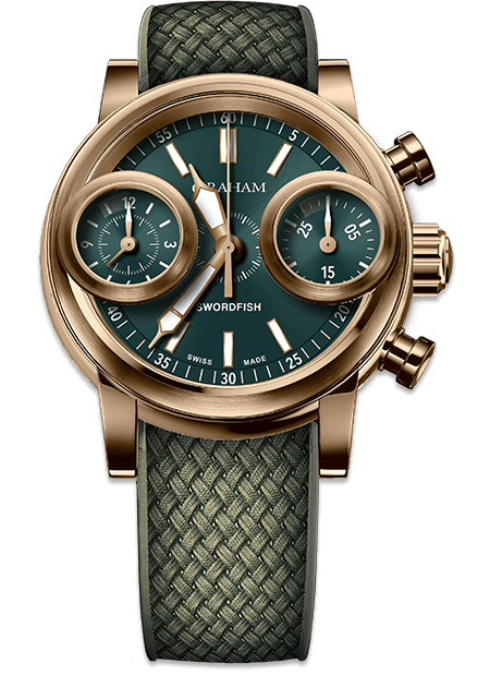 CHRONOFIGHTER SWORDFISH BRONZE COLLECTION - Chalmers Jewelers