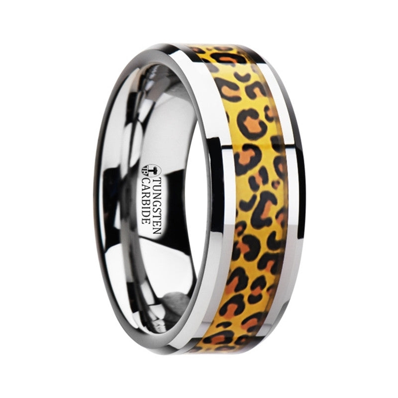 Tungsten with Cheetah Print
