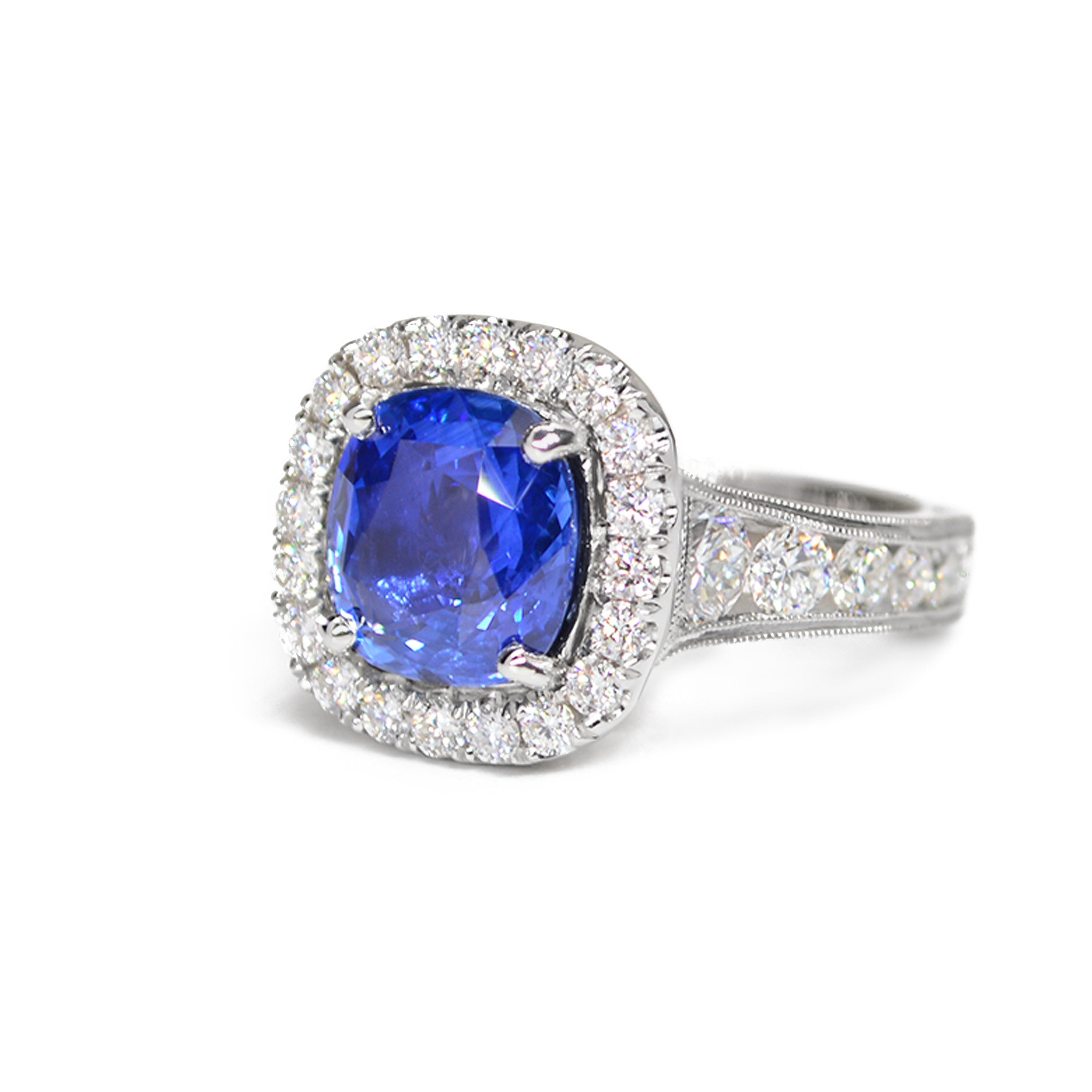 double shop diamonds glamorous sapphire dalby and royal ring blue diamond anniversary gifts halo