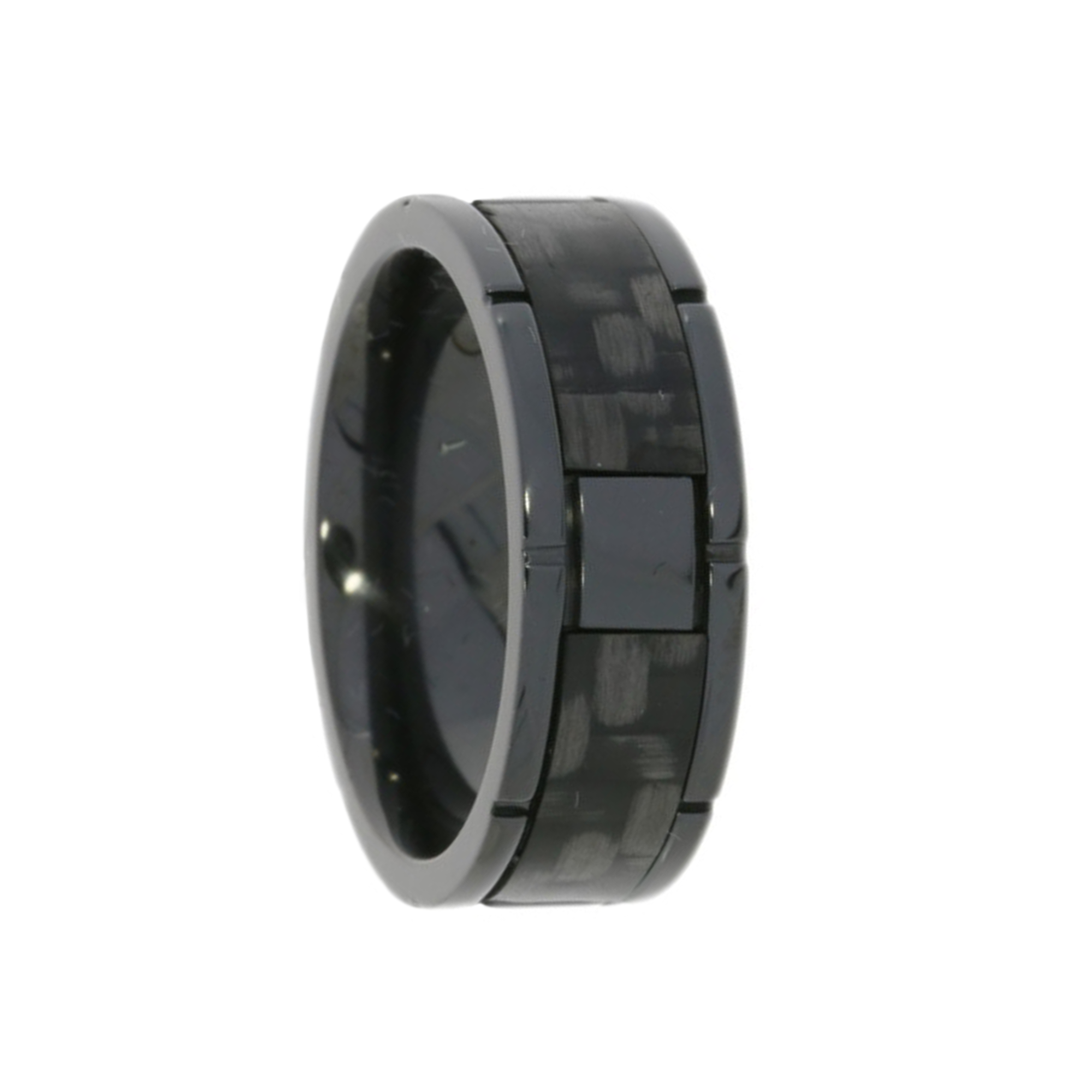 Black Polished Band