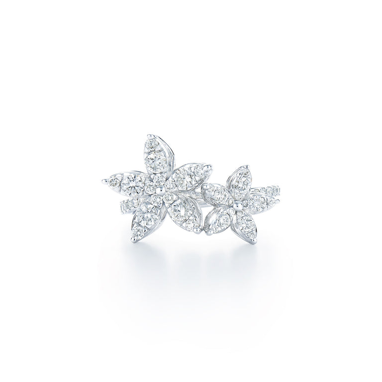 Kwiat Sunburst Flower Diamond Ring - Chalmers Jewelers