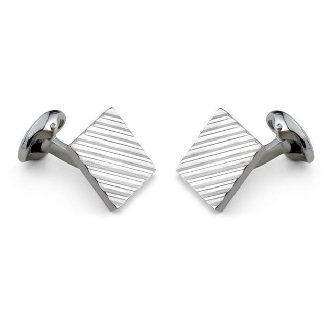 Deakin & Francis Silver Square Cufflinks - Chalmers Jewelers