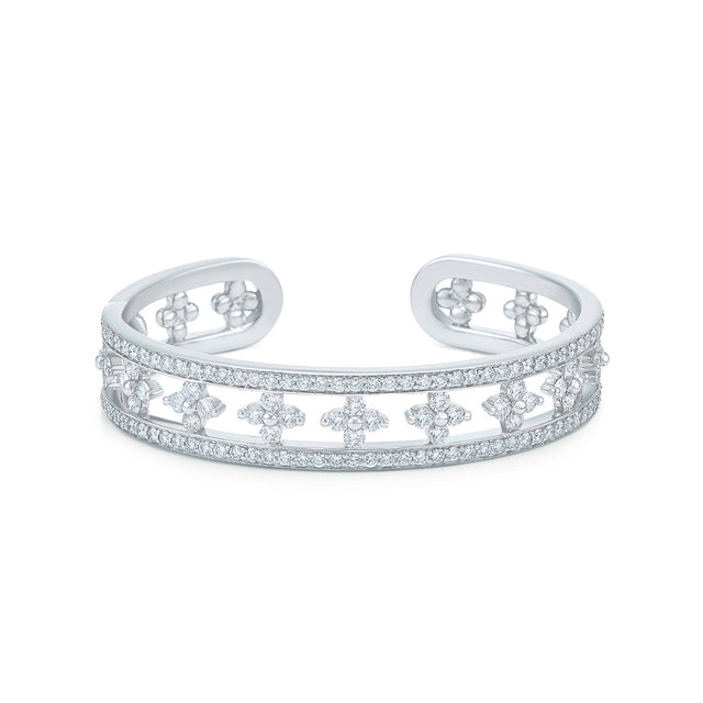 Jasmine Cuff with Diamonds
