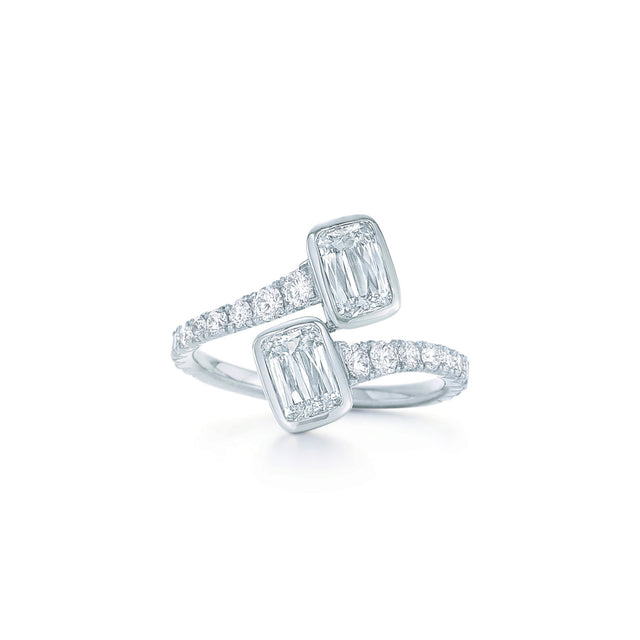 Ashoka Diamond Bypass Ring