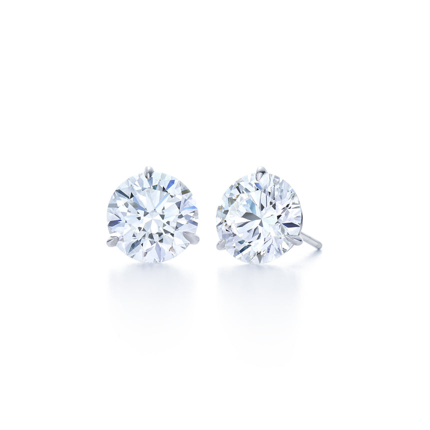 Round Diamond Stud Earrings - Chalmers Jewelers