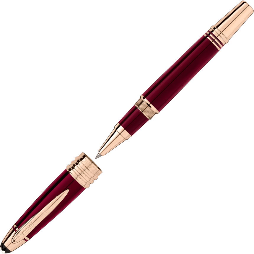 Montblanc John F. Kennedy Special Edition Burgundy Rollerball - Chalmers Jewelers