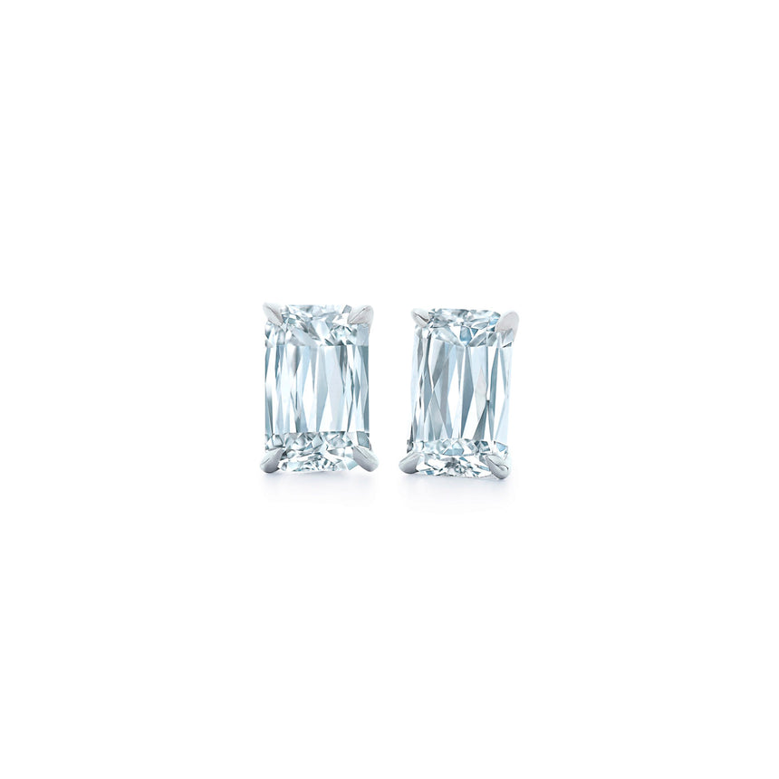 Ashoka Diamond Stud Earrings in Platinum