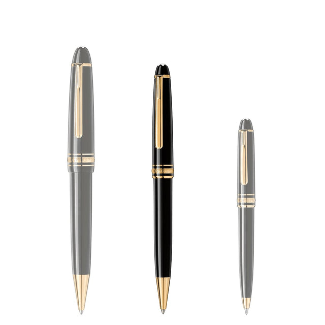 Montblanc Meisterstück Gold-Coated Classique Ballpoint Pen - Chalmers Jewelers