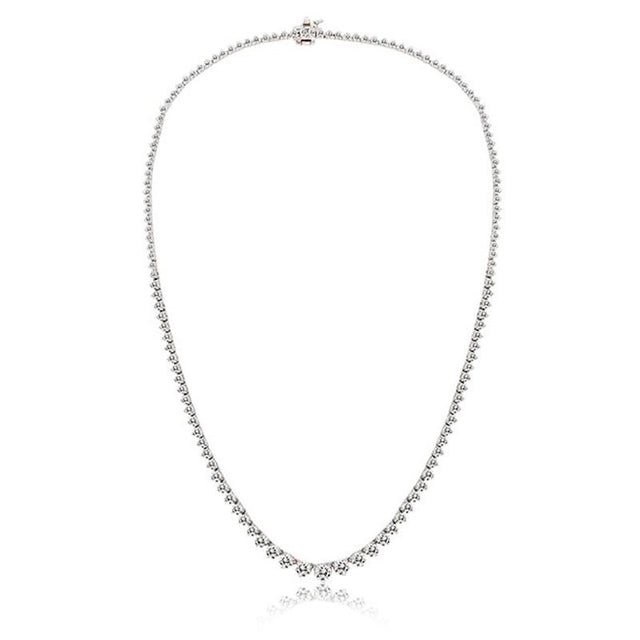7 carat Diamond Tennis Necklace