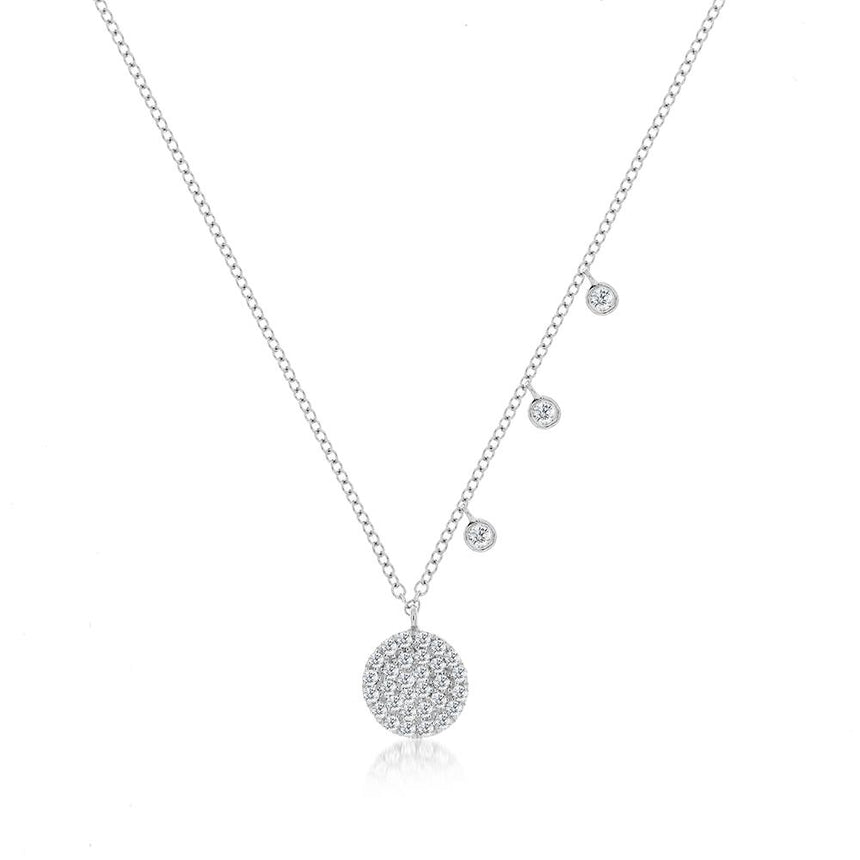 Meira T Signature Disc Necklace