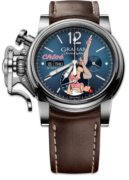 CHRONOFIGHTER VINTAGE NOSE ART COLLECTION - Chalmers Jewelers