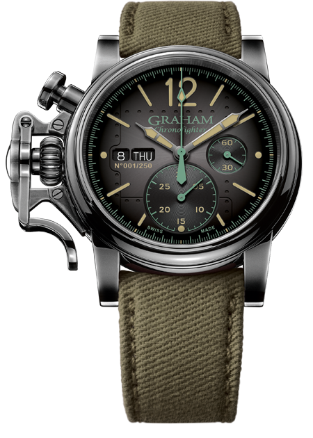 CHRONOFIGHTER VINTAGE AIRCRAFT LTD COLLECTION - Chalmers Jewelers