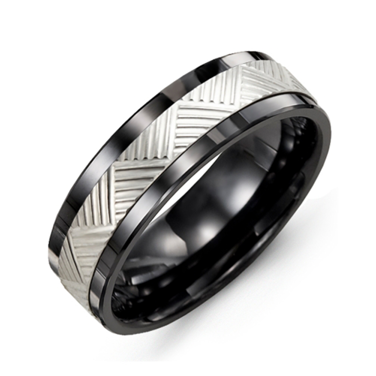 Geometric Wedding Band - Chalmers Jewelers