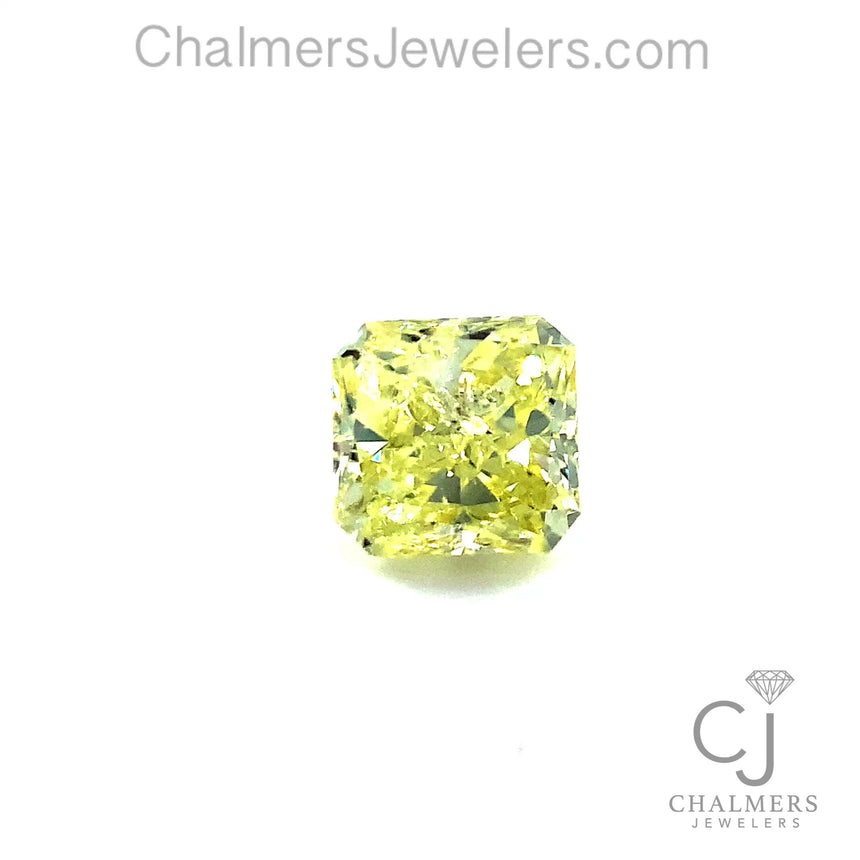 1.11ct Natural Diamond - Fancy Yellow