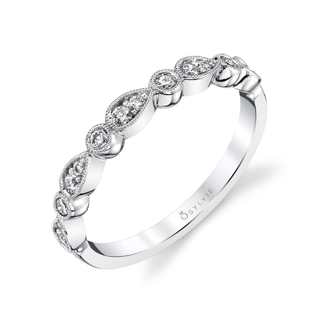 Sylvie Stackable Band - B0026 - Chalmers Jewelers