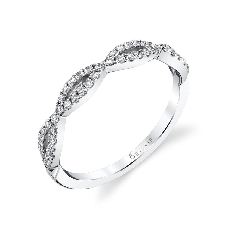 Stackable Wedding Band B0075-WG - Chalmers Jewelers