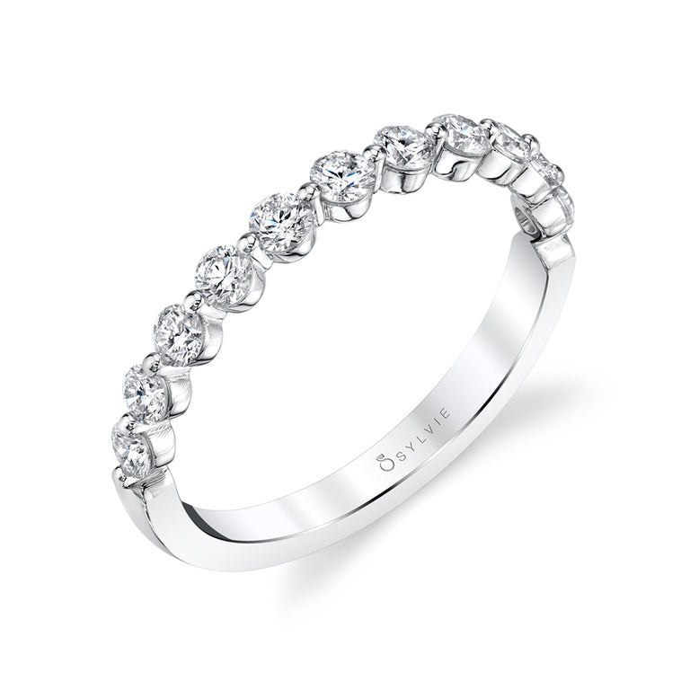 Sylvie Stackable Wedding Band - B1P11-0056 - Chalmers Jewelers