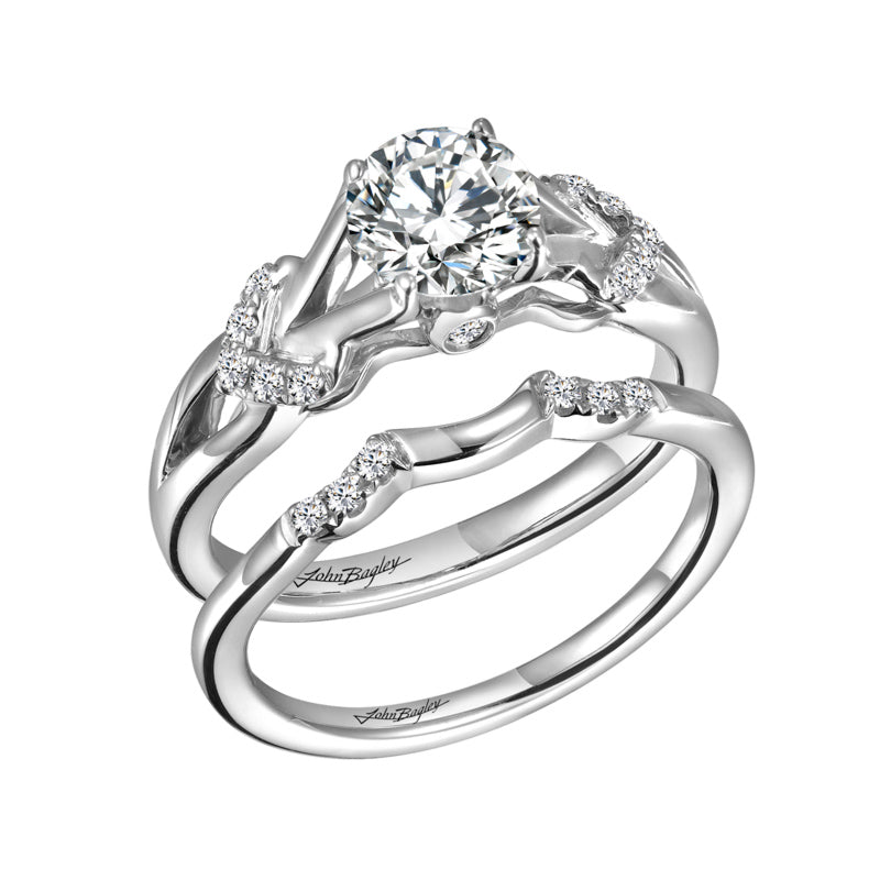 Classic Engagement Ring With Split Shank #248240 - Chalmers Jewelers