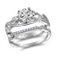 John Bagley Leaves Solitaire Engagement Ring #316374 - Chalmers Jewelers