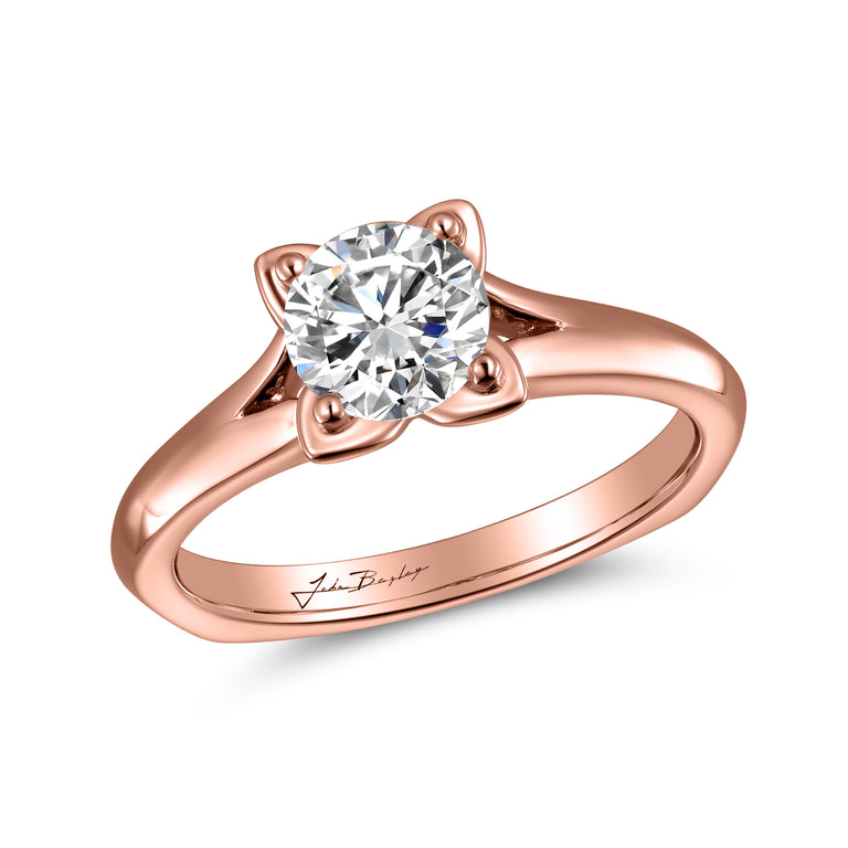 John Bagley Solitaire Engagement Ring #316390 - Chalmers Jewelers