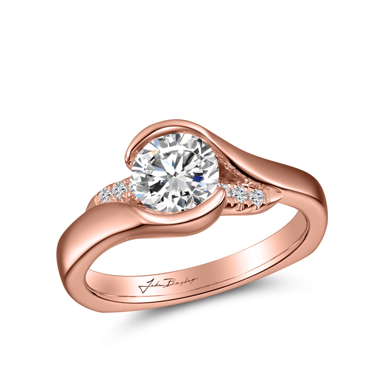 John Bagley Signature Solitaire Engagement Ring #316392 - Chalmers Jewelers