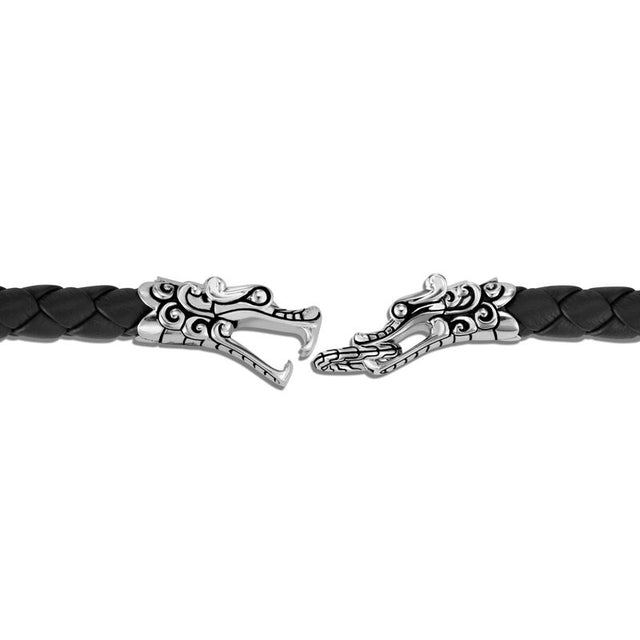 Naga Station Bracelet with Leather - Chalmers Jewelers