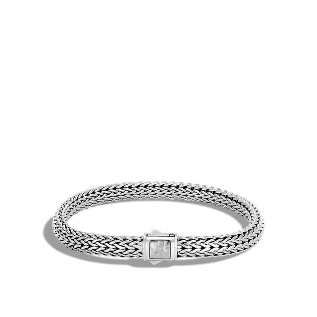 Classic Chain Hammered Bracelet - Chalmers Jewelers