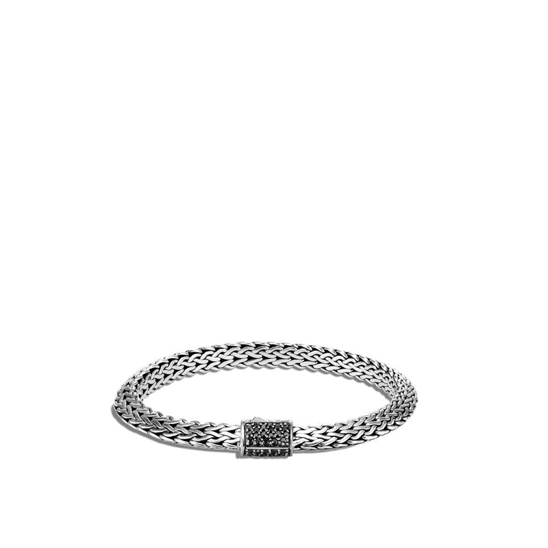 Tiga Chain Bracelet with Black Sapphire - Chalmers Jewelers