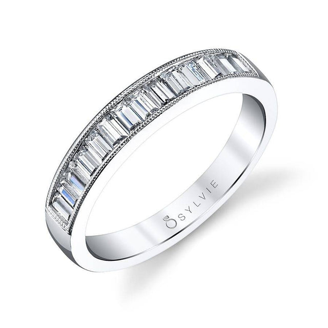 Baguette Wedding Band BS1114 - Chalmers Jewelers