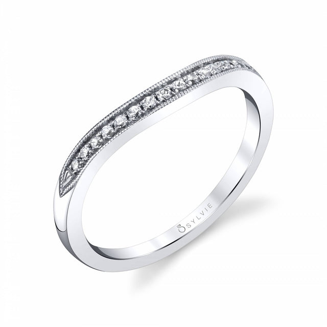 Vintage Inspired Wedding Band BS1911 - Chalmers Jewelers