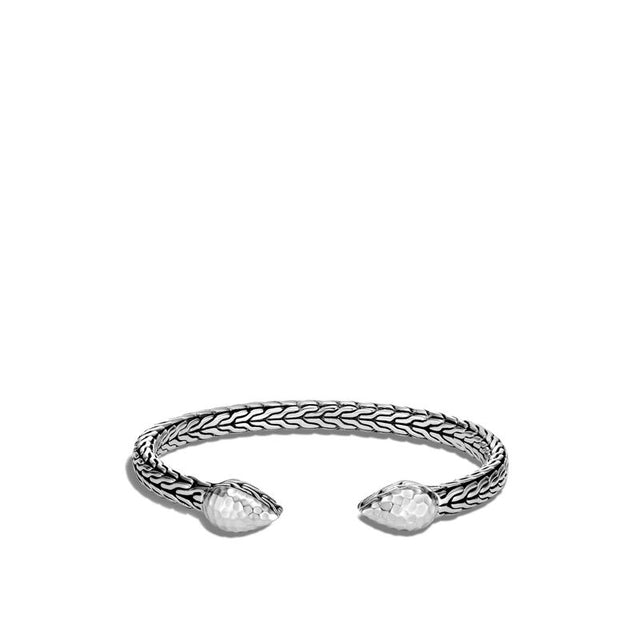 Classic Chain Hammered Flex Cuff - Chalmers Jewelers