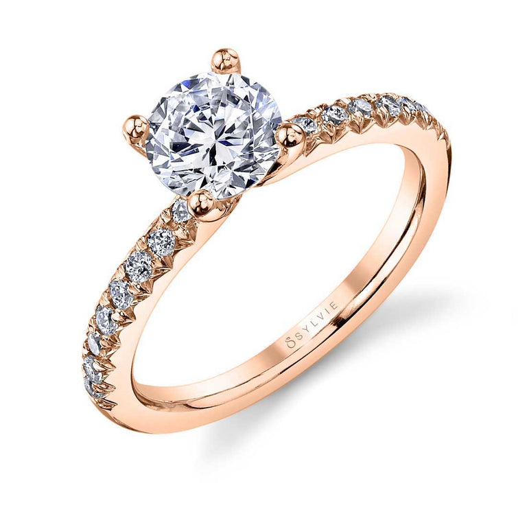 Classic Solitaire Engagement Ring SY965 - Chalmers Jewelers