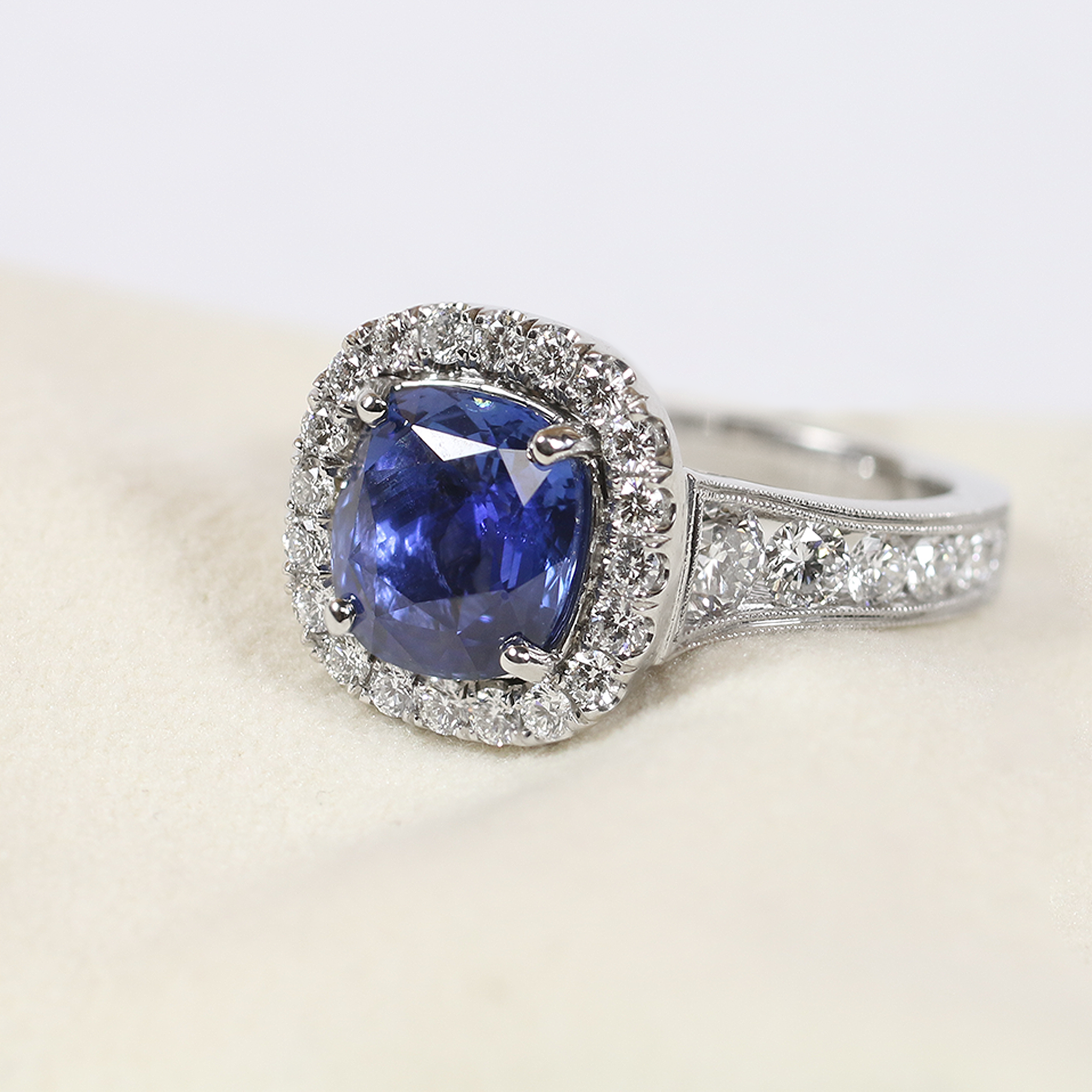ring collections brands blue red royal carpet liali rings sapphire