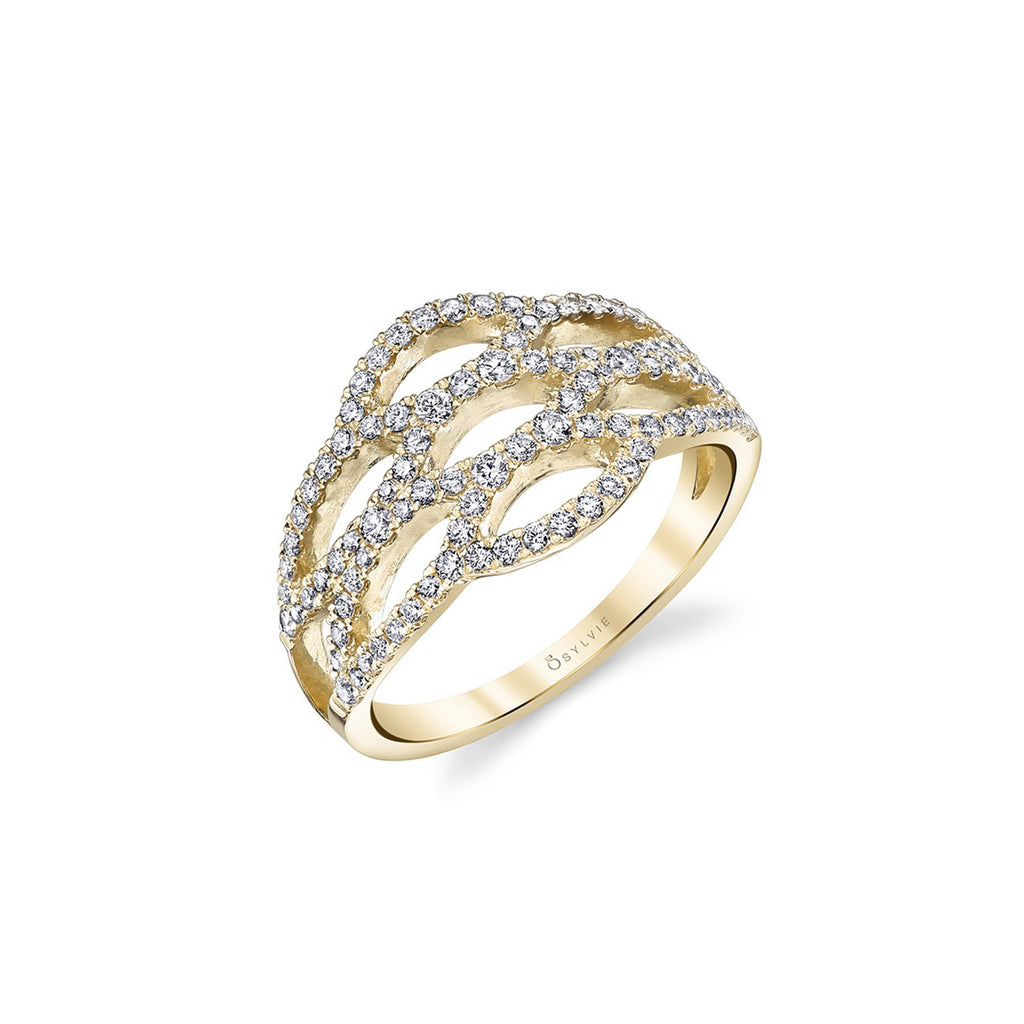 Marquise Pattern Ring