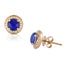 Royal Lapis Stud Earrings - Chalmers Jewelers