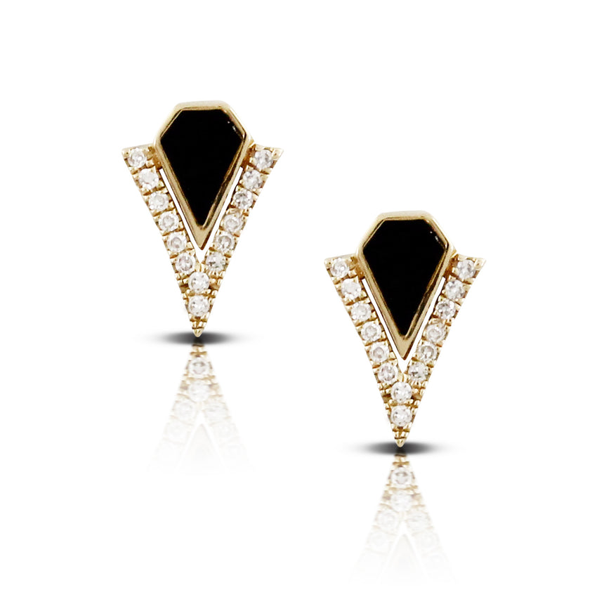 Black Onyx Earrings - Chalmers Jewelers