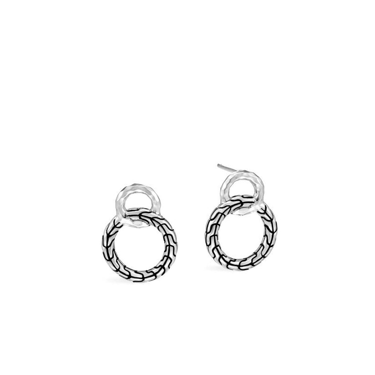 Classic Chain Interlinking Stud Earring - Chalmers Jewelers