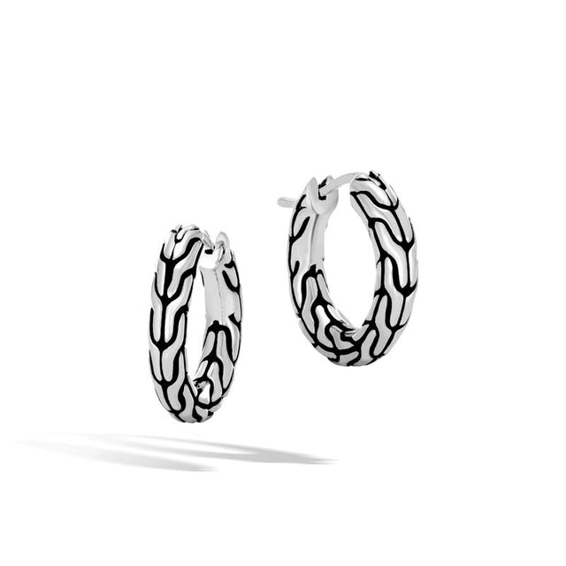 Classic Chain Small Hoop Earring - Chalmers Jewelers